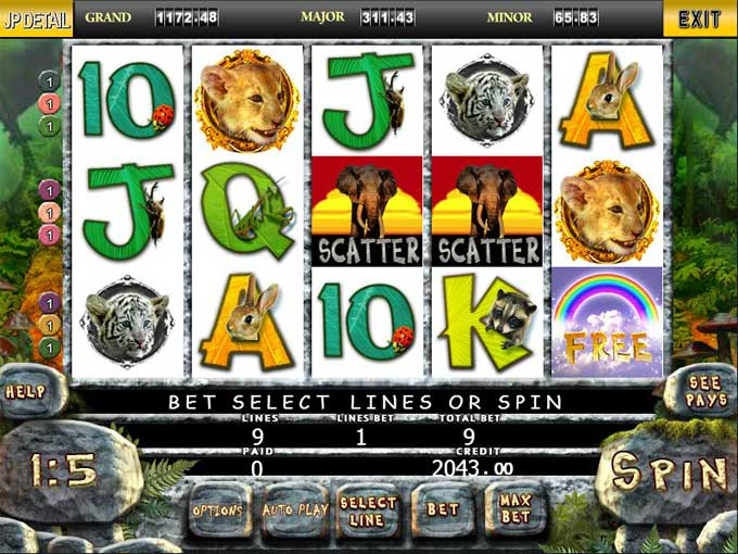 jungle slot game online